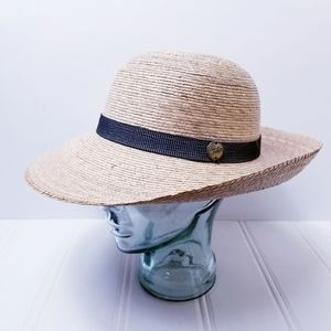 Tula Chloe Handwoven Straw Hat with Band Womens